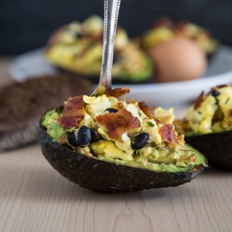 Avocado Hummus Breakfast Bowls
