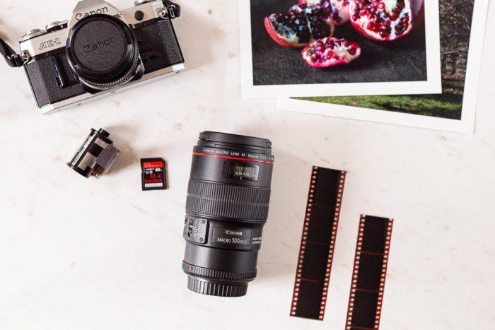 camera lens and film camera