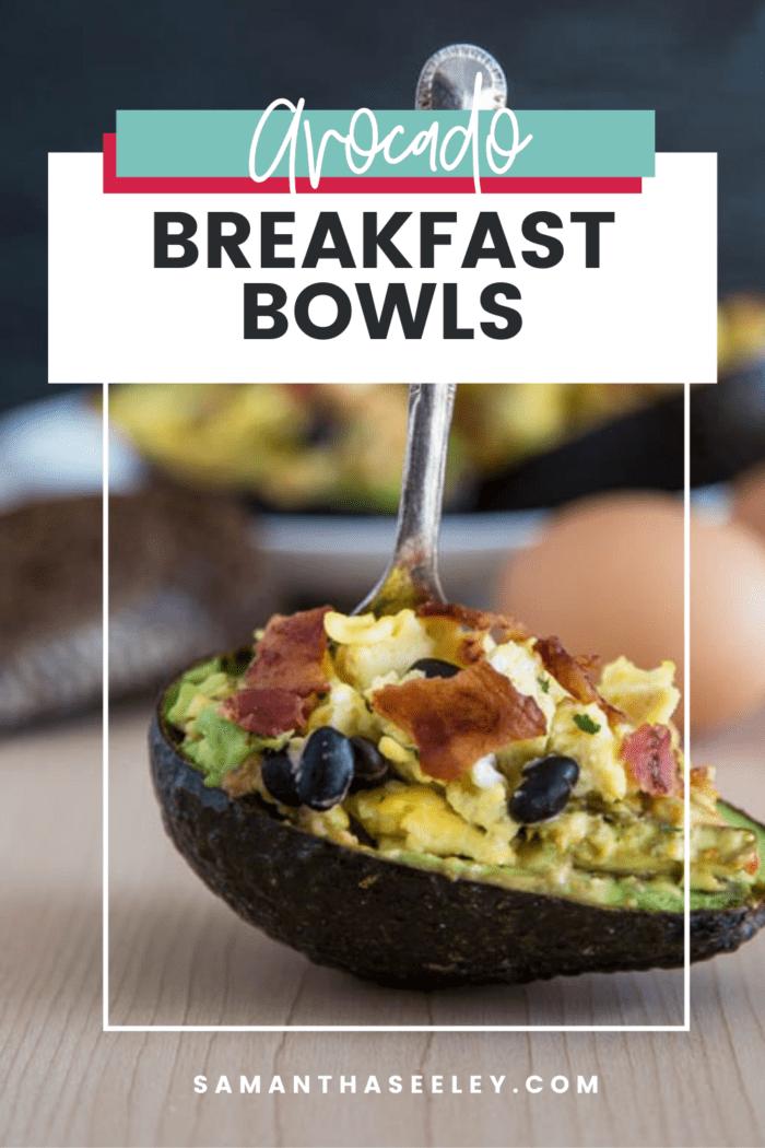avocado breakfast bowls