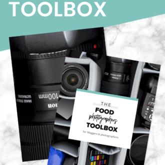 the food photographers toolbox